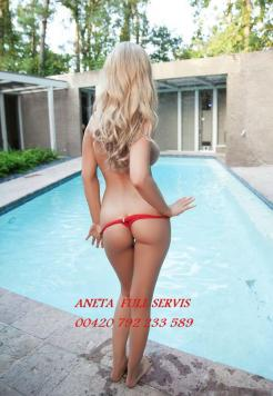 ANETA 1hour only 2000 CZK  Escort Prague 00420 792233589