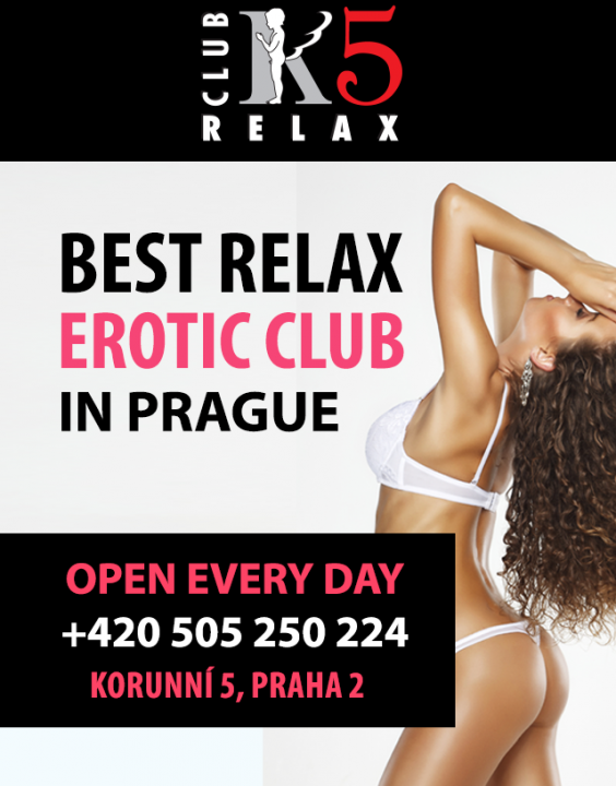 K5 Relax  Escort Prague +420 224 250 505 K5 Relax CLub